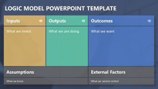 Logic Model PowerPoint Templates