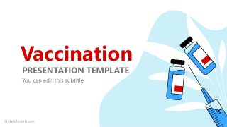 Vaccine and Syringe PowerPoint