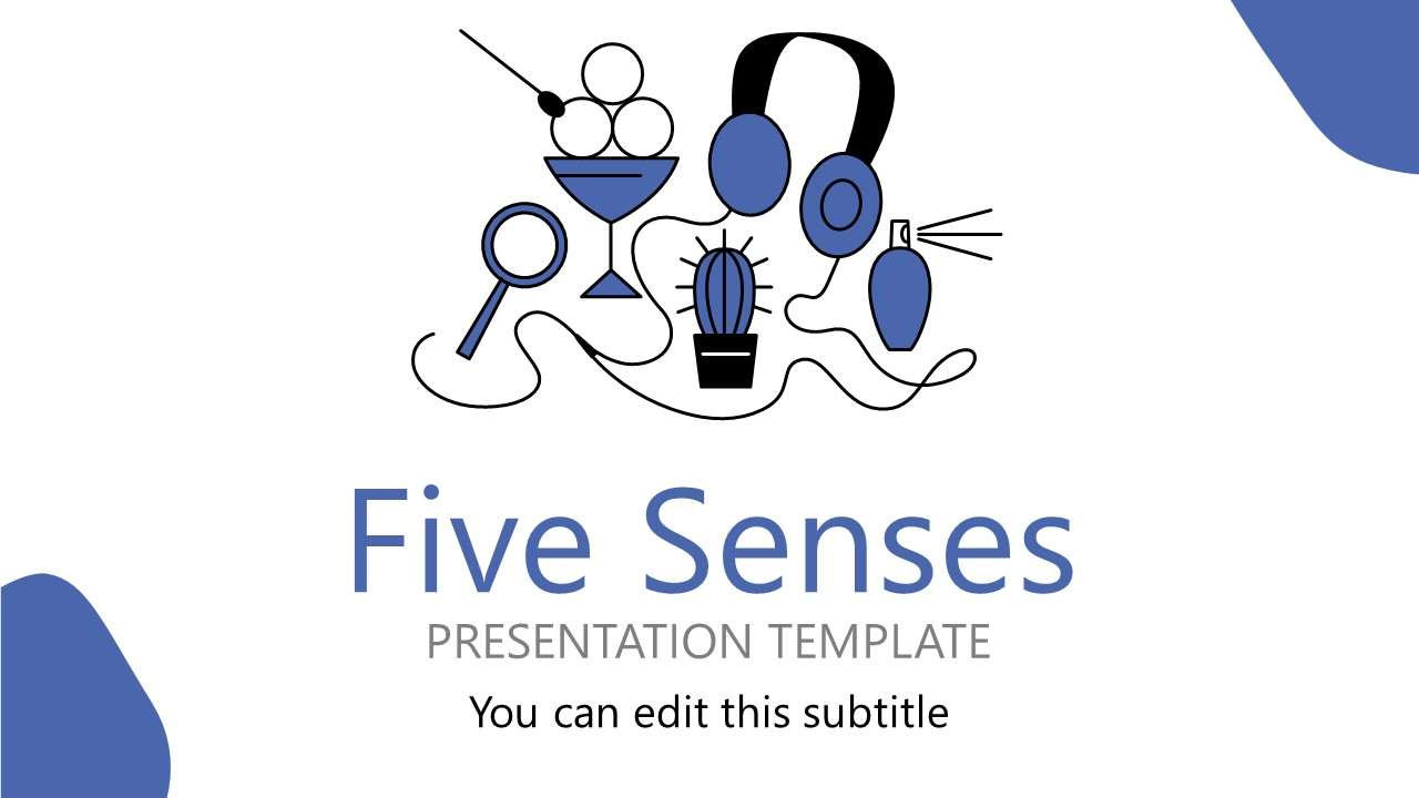 Five Senses Activities Shapes PPT
