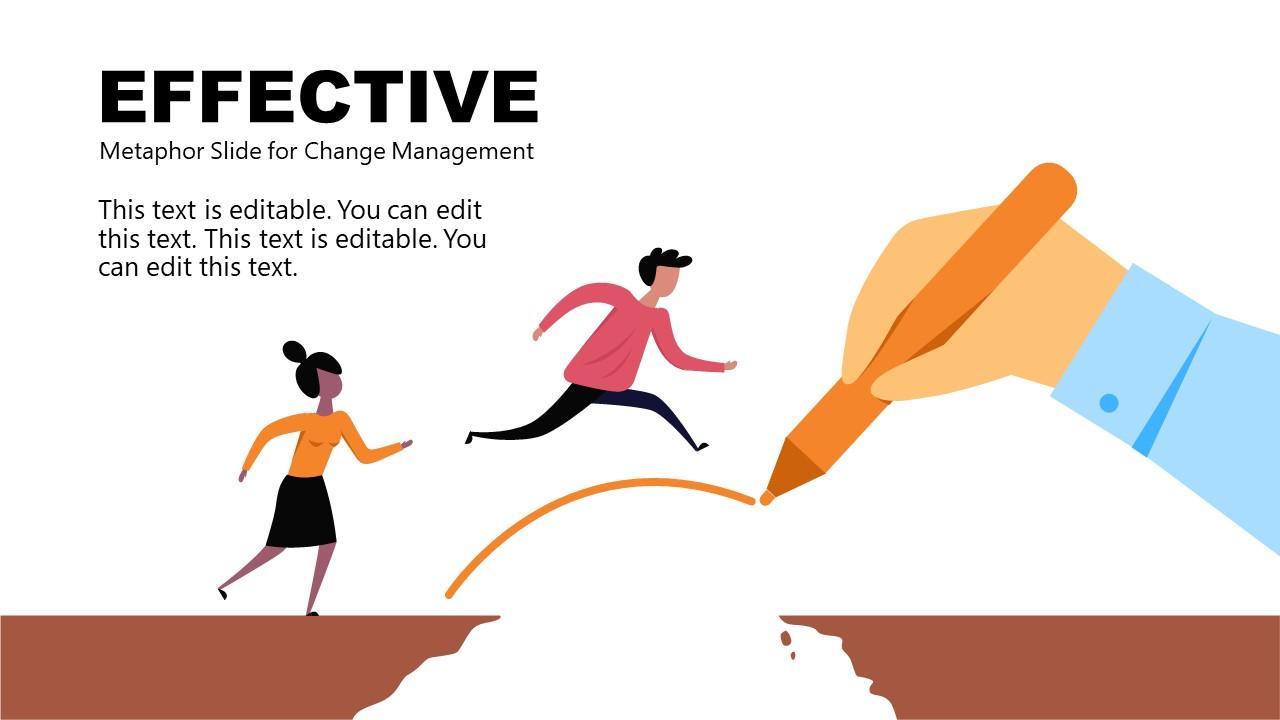 PowerPoint Change Management Metaphor Effective