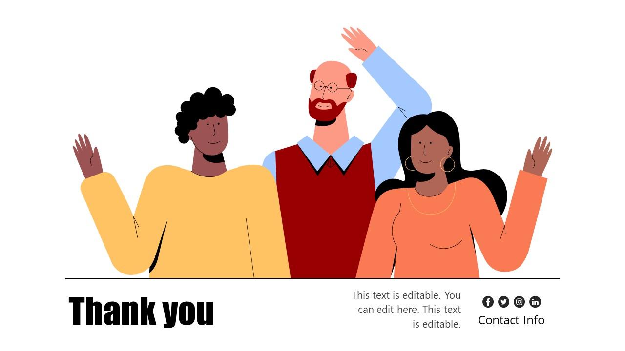 PowerPoint Slides of Diverse Workforce PPT