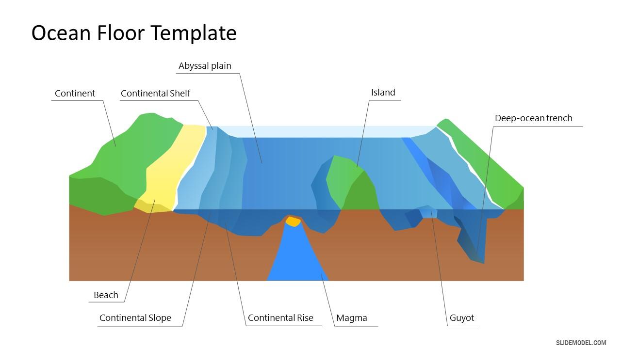 Presentation for Ocean Floor Label Diagram