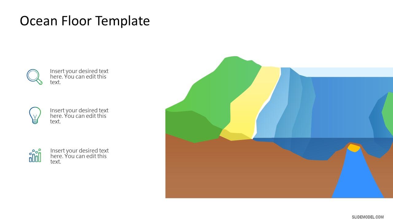 Animated Ocean Floor Seabed Template