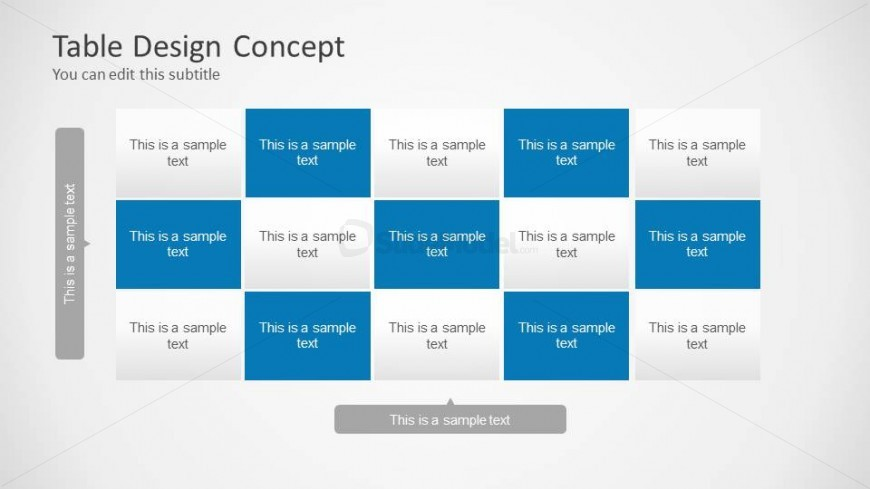 8060 01 table design concept powerpoint 4 slidemodel for Table design ppt