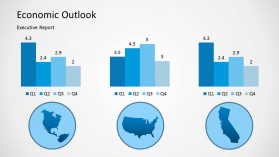 Economic Outlook Slide Design for PowerPoint