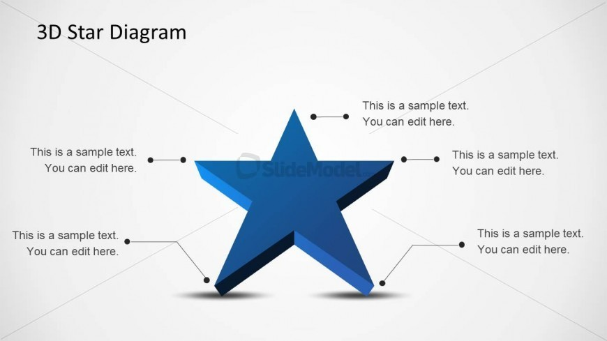 8105 01 star diagram template 1 slidemodel rh slidemodel com blank star diagram templates 6 point star diagram template