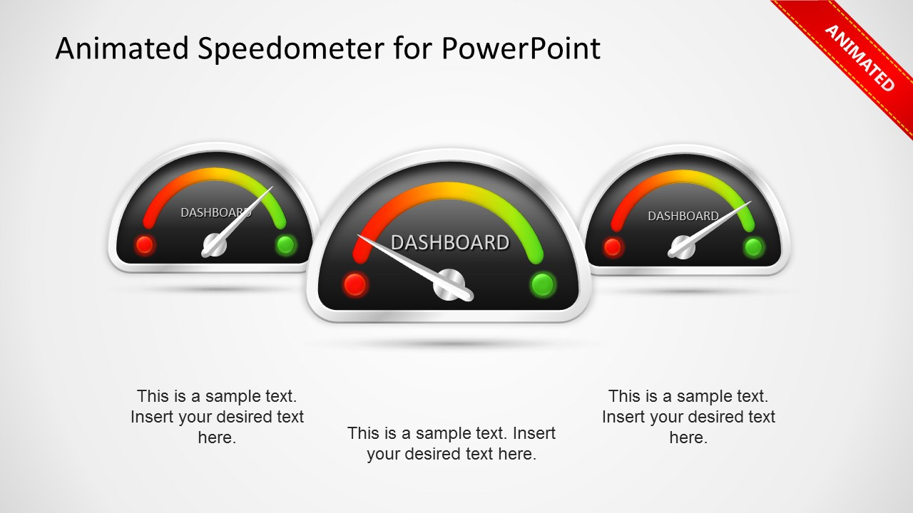 Animated dashboard speedometer template for powerpoint slidemodel animated dashboard powerpoint template toneelgroepblik Image collections