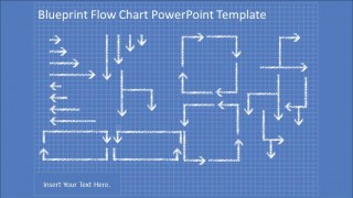 Blueprint flowchart powerpoint diagram slidemodel collection of powerpoint flowchart hand drawn connectors hand drawn flowchart powerpoint elements in blueprint background malvernweather Choice Image