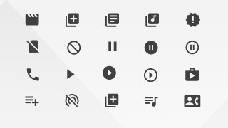 PowerPoint Icons AV from Google Materials Resources