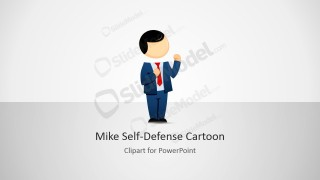 Mike Male Cartoon Personal Defense Clipart