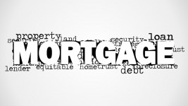 Image Mortgage Word Cloud for PowerPoint