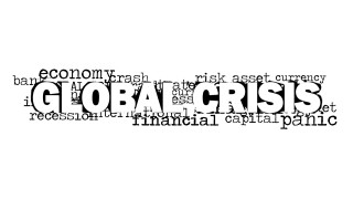 global crisis word cloud picture for powerpoint - slidemodel, Powerpoint templates