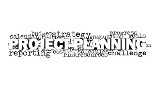 Word Cloud Project Planning Picture