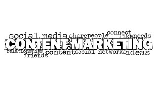 Content Marketing Word Cloud Picture for PowerPoint - SlideModel