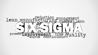 Six Sigma Word Cloud Picture for PowerPoint