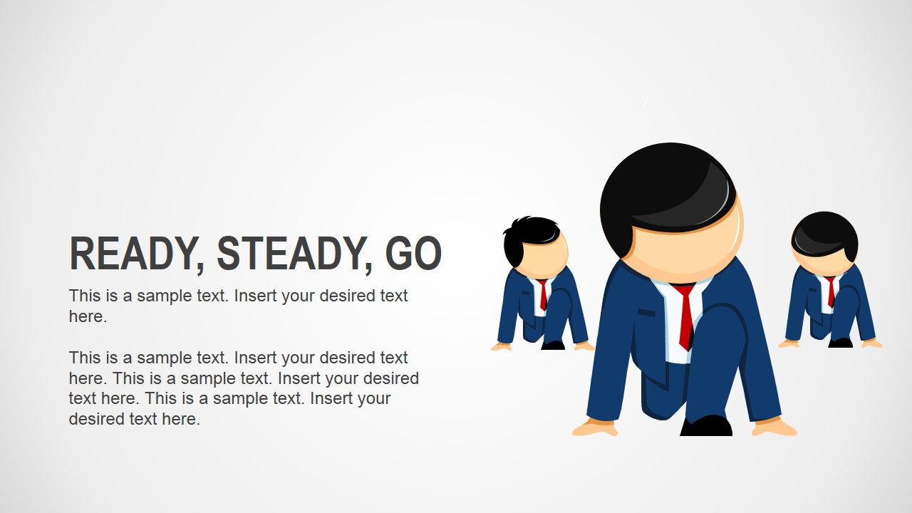 Ready steady go business analogy slides for powerpoint for Ready to go images