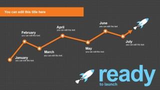Process Timeline PowerPoint Slide Template