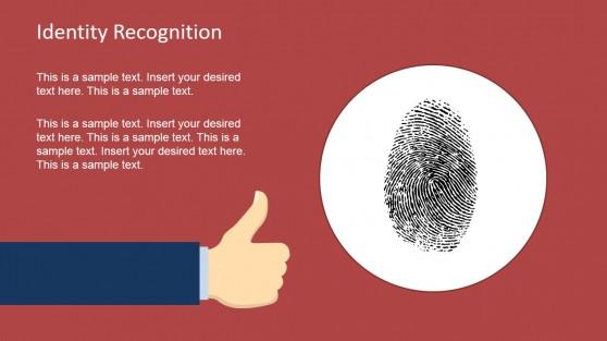 Fingerprint Shape for Identity Recognition