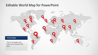 PPT Worldmap Slide Design