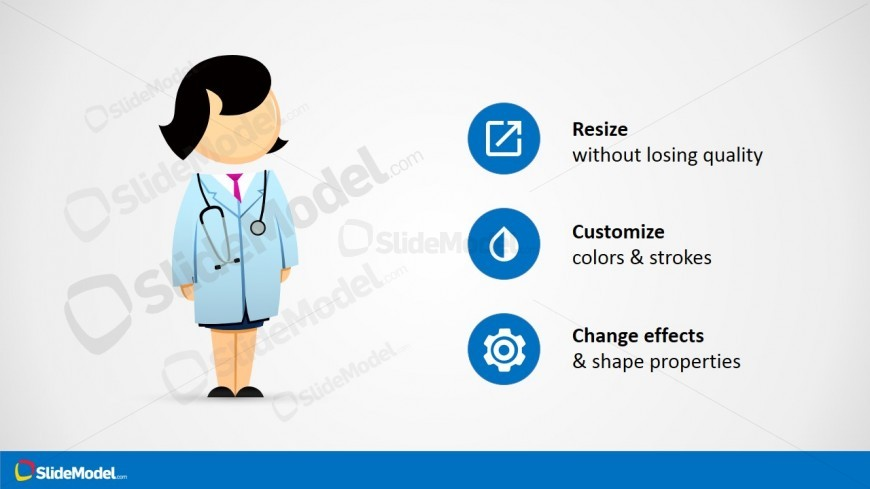 PPT Clipart Female Doctor Jane