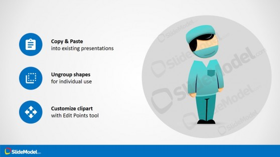 Editable Medical Surgeon for PowerPoint