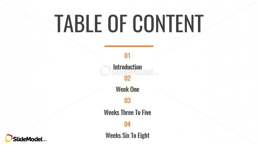 table of content slide design - slidemodel, Powerpoint templates