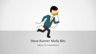 Steve Runner Molly Bits PowerPoint Shapes