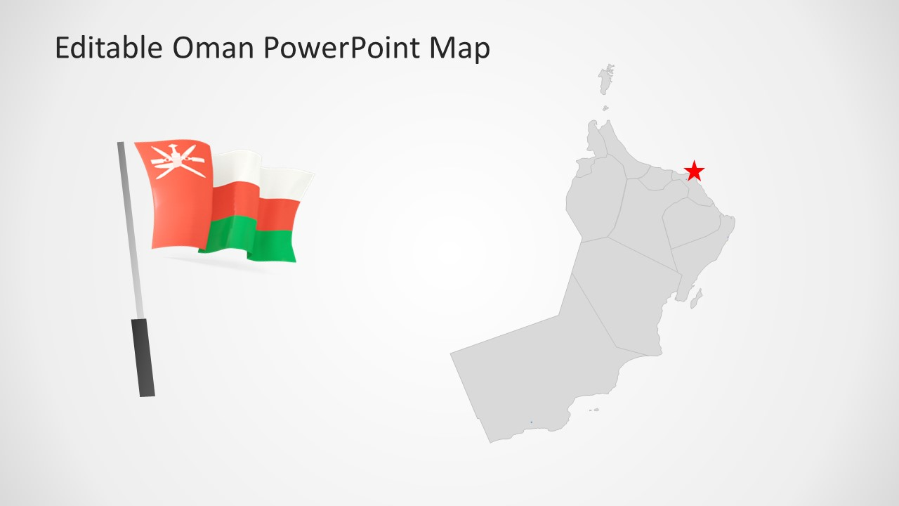 Flag of Oman Clipart