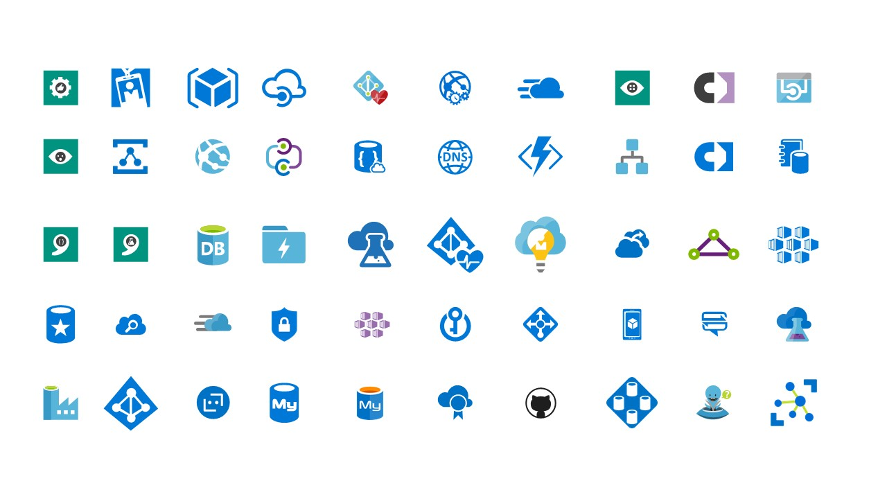 Useful Icons Slide for Cloud Computing
