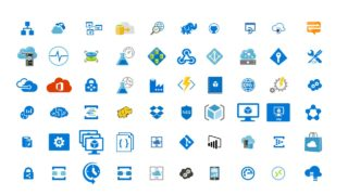 Useful Icons Template for Cloud Computing