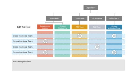 PowerPoint Organizational Hierarchy Structure