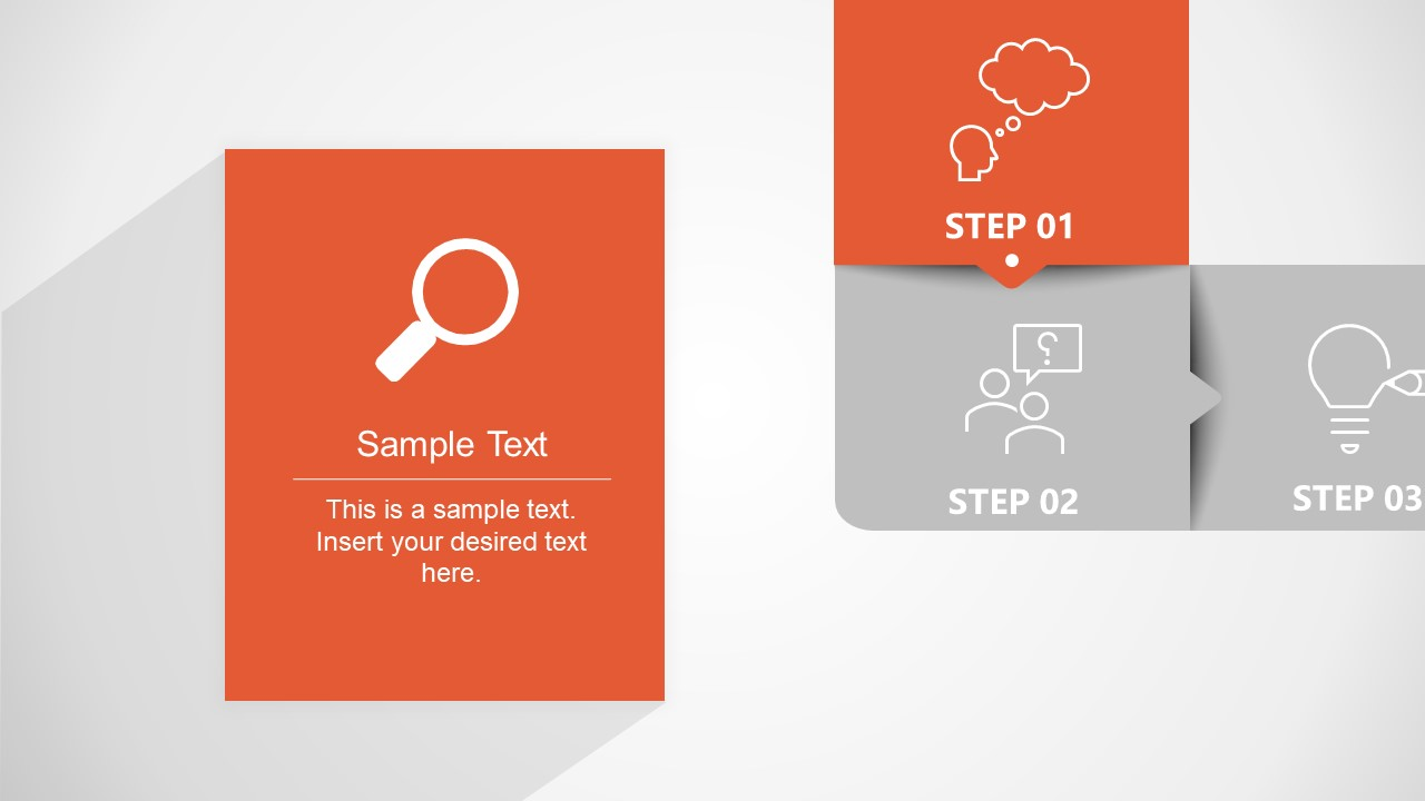 PPT Animated 6 Steps Template