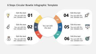 Bowtie Presentation Template for Circular Diagram