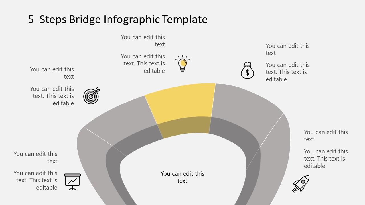 Step 3 Infographic Diagram Bridge Template