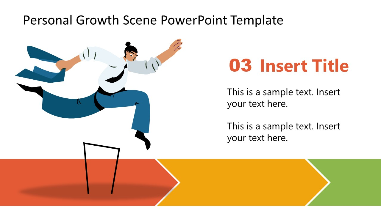 Hurdle Jumping Step 3 Personal Growth Template
