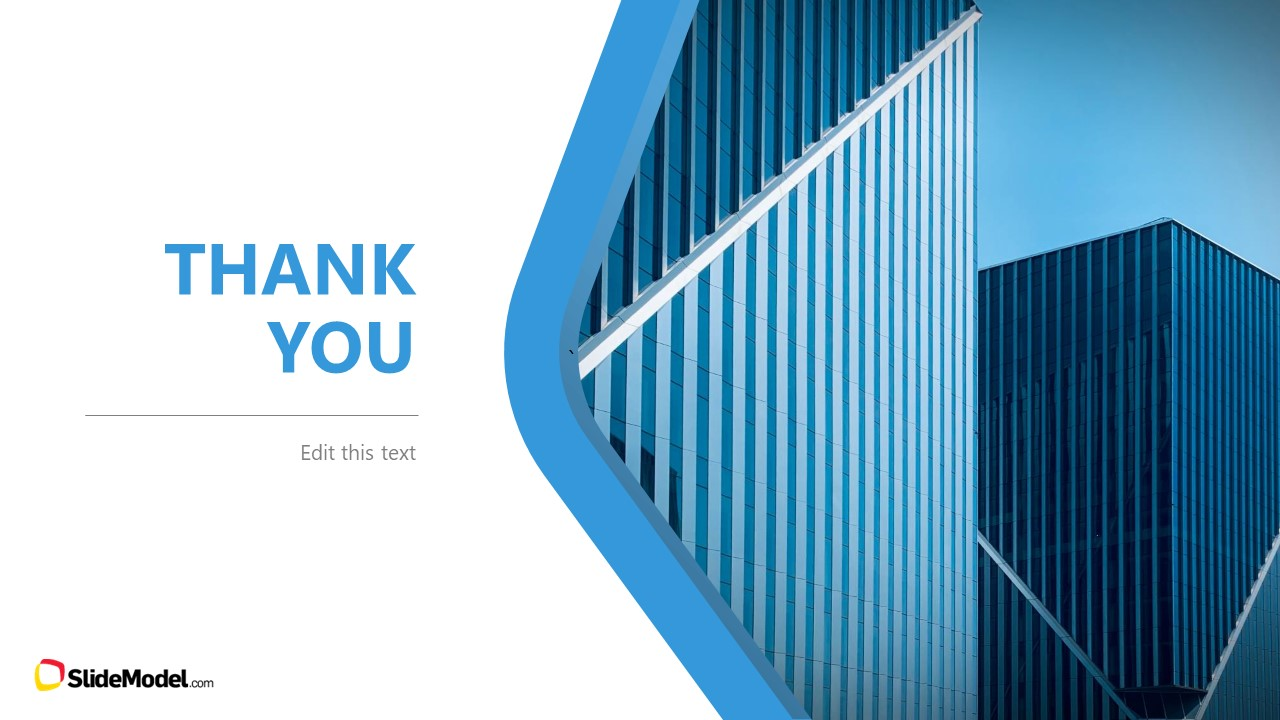Business Template Deck Thank You