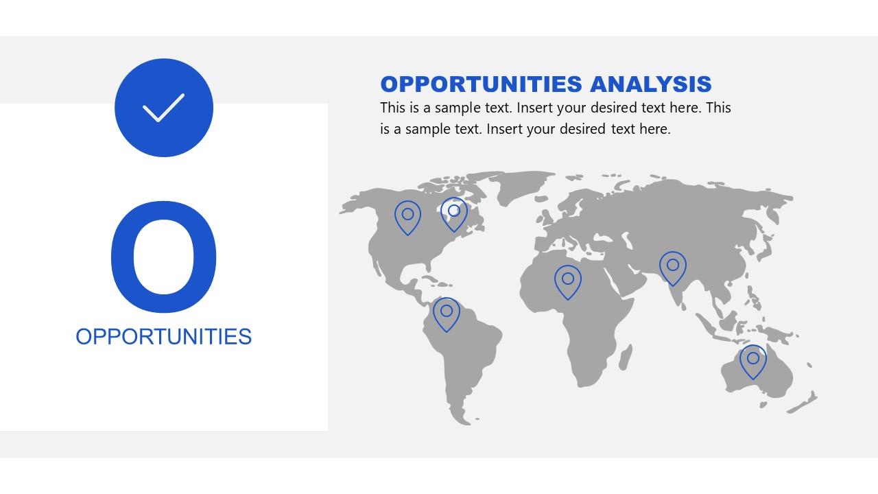 Opportunities in SWOT Analysis Slide