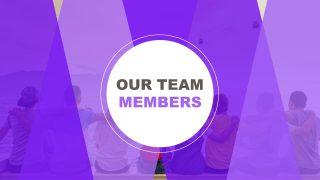 Presentation of Meet The Team Template
