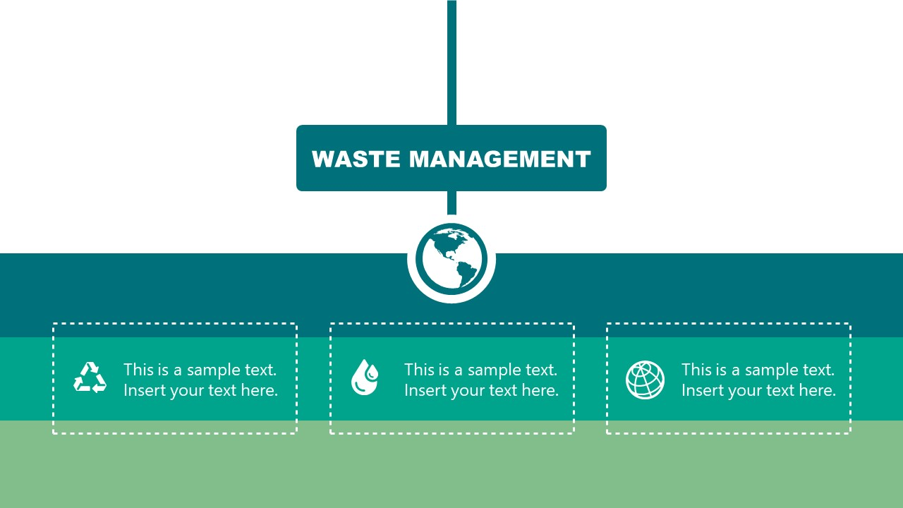 PowerPoint Waste Management Industry Hierarchy
