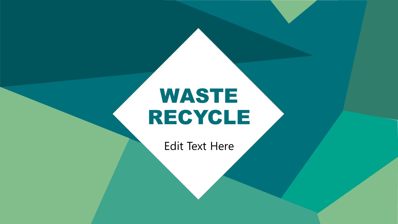 PowerPoint Waste Management Industry Recycle