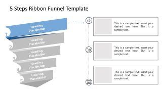 PowerPoint Funnel Chart Stage 1 Template