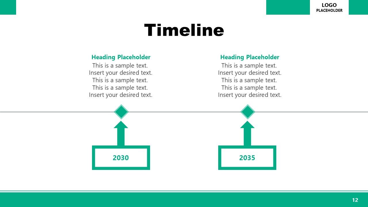 Animated Timeline PowerPoint Executive Presentation