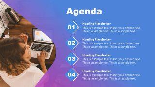 Agenda Slide for Mentorship Presentation