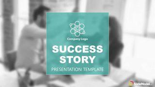 Cover Slide of Success Stroy Presentation