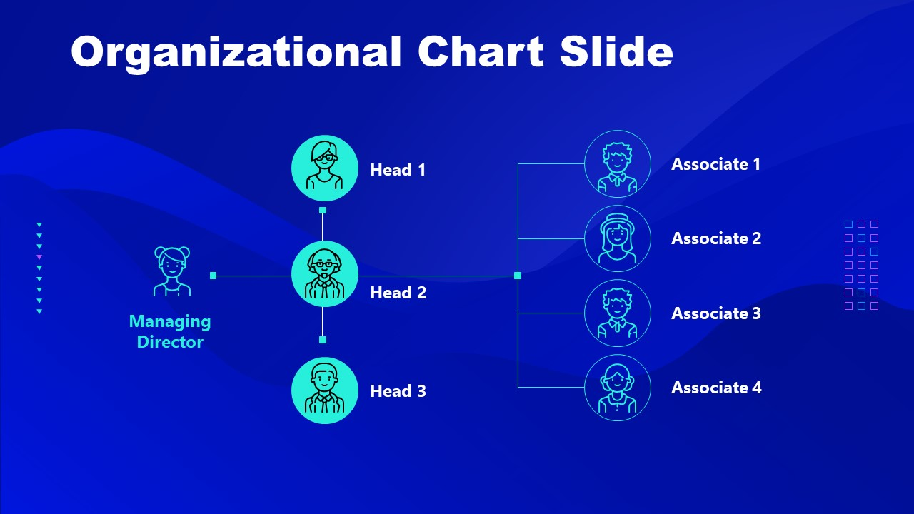 PowerPoint of Cryptocurrency Org Chart Template