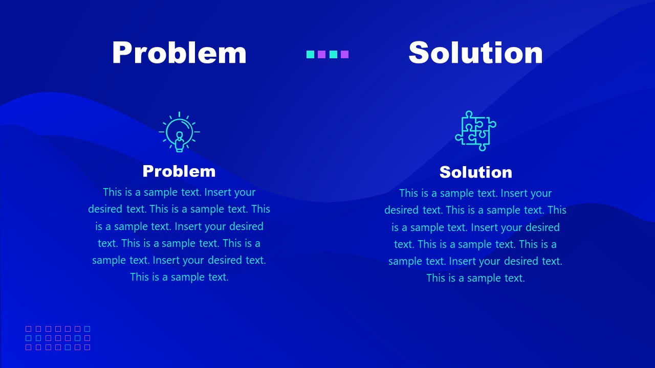 PowerPoint of Cryptocurrency Problem Solution Template