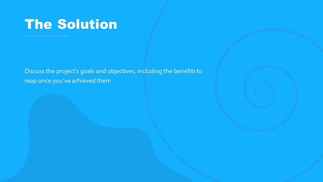 Solution Definition Project Proposal PPT Template