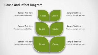 Cause & Effect Slide Design for PowerPoint with Tree Diagram