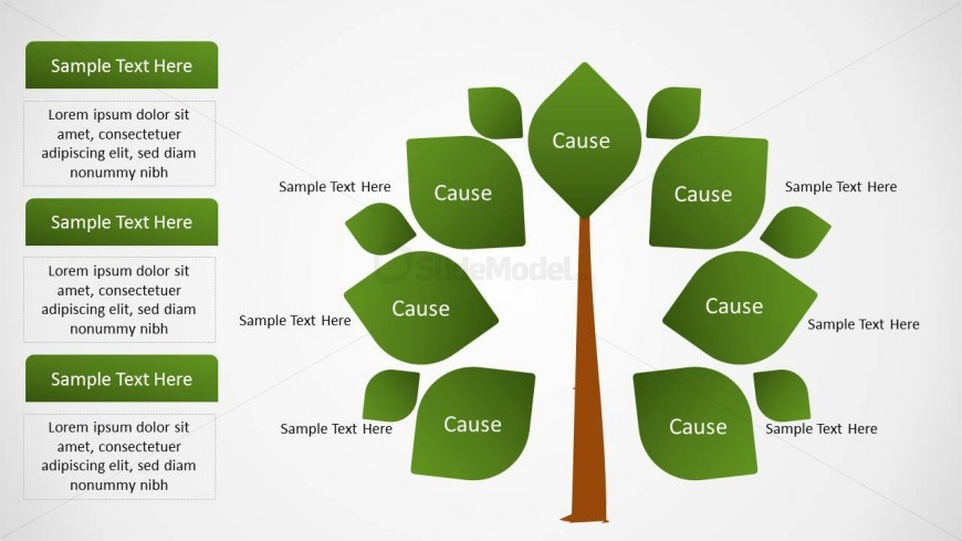 Cause & Effect Analysis Slide Design for PowerPoint