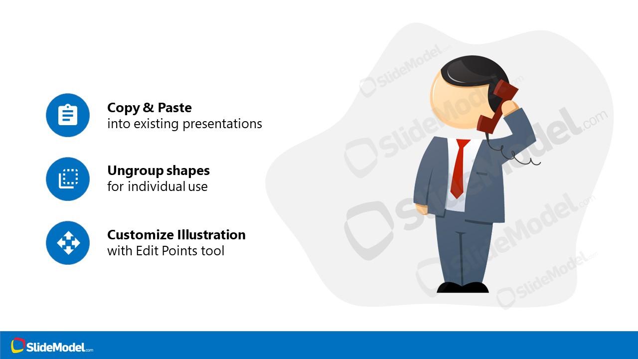 PowerPoint Cartoon Illustration Template